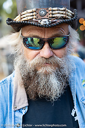 Billy Stevens, co-founder of the Iron Horse Saloon, at the  Broken Spoke Saloon in Ormond Beach during Daytona Beach Bike Week, FL. USA. Sunday, March 10, 2019. Photography ©2019 Michael Lichter.