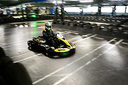 Dino Zamparelli go karting at Absolutely Karting - Mandatory by-line: Dougie Allward/JMP - 08/03/2018 - SPORT - Absolutely Karting - Bristol, England - Bristol Sport Absolutely Karting