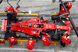 September 1, 2017 - Monza, Italy - Motorsports: FIA Formula One World Championship 2017, Grand Prix of Italy, .#7 Kimi Raikkonen (FIN, Scuderia Ferrari) (Credit Image: © Hoch Zwei via ZUMA Wire)