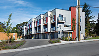 Skyline Engineering Townhome Complex exterior, in Esquimalt BC.