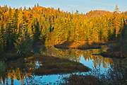 Meandering river in morning light<br />