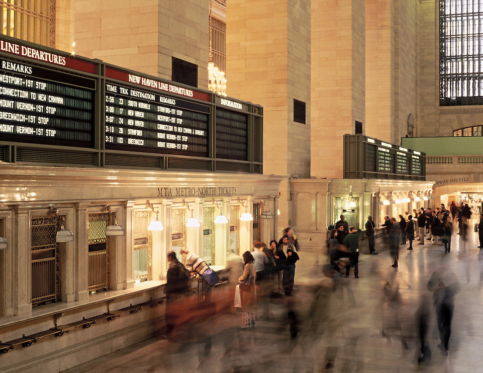 Personal Work;  Location: Grand Central Station, NYC