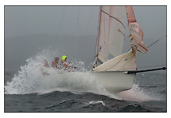 The second days racing at the Bell Lawrie Yachting Series in Tarbert Loch Fyne ...Strong winds, high seas and heavy rain dominated the day...The Big L,  GBR1787L,  1720 Sportsboat....FAO Magazine Edit..All images incur reproduction cost..Mandatory Credit Copyright :.Marc Turner / PFM Pictures
