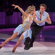 NLD/Ede/20110415 - Finale Sterren Dansen op het IJs 2011, Michael Boogerd en Darya Nucci