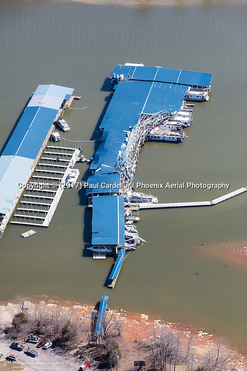 The Day After A Tornado Took Aim At Four Corners Marina