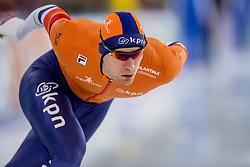 10-12-2016 NED: ISU World Cup Speed Skating, Heerenveen<br /> 1500 m men / Thomas Krol
