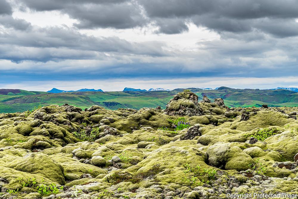 Overleaf: The lava fields of Skaftárhraun in southeast Iceland
