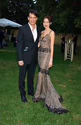 MATTHEW MELLON and NOELLE RENO at the annual Serpentine Gallery Summer Party co-hosted by Jimmy Choo shoes held at the Serpentine Gallery, Kensington Gardens, London on 30th June 2005.<br /><br />NON EXCLUSIVE - WORLD RIGHTS