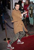 Robert Sheehan at the On Blueberry Hill play press night, Trafalgar Studios, London, 11 Mar 2020 Photo by Brian Jordan