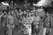 The word ẽberá can be used to mean person, man, or indigenous person, depending on the context in which it is used. There are approximately 33,000 people living in Panama and 50,000 in Colombia who identify as Emberá.