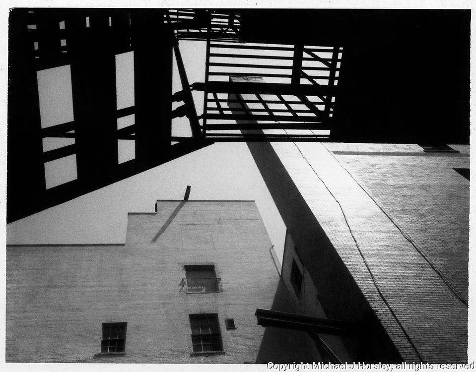 14th and R Street NW, Washington DC, 1985<br /> Polaroid