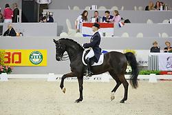 Devroe Jeroen (BEL) - Apollo van het Vijverhof<br /> World Cup Final Dressage 's Hertogenbosch 2010<br /> © Dirk Caremans