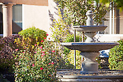 Three Tier Cement Water Fountain