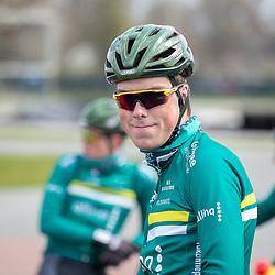SITTARD (NED) WIELRENNEN<br />De elite-beloften van Allinq-Krush-De IJsselstreek zijn op trainingskamp in Limburg. Tim Bierkens