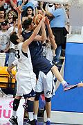 DESCRIZIONE : Bologna LNP DNB Adecco Silver GironeA 2013-14 Fortitudo Bologna Basket Cecina<br /> GIOCATORE : Spizzichini Stefano e Pederzini Riccardo <br /> SQUADRA : Fortitudo Bologna <br /> EVENTO : LNP DNB Adecco Silver GironeA 2013-14<br /> GARA :  Fortitudo Bologna Basket Cecina <br /> DATA : 05/01/2014<br /> CATEGORIA : Difesa Controcampo<br /> SPORT : Pallacanestro<br /> AUTORE : Agenzia Ciamillo-Castoria/A.Giberti<br /> Galleria : LNP DNB Adecco Silver GironeA 2013-14<br /> Fotonotizia : Bologna LNP DNB Adecco Silver GironeA 2013-14 Fortitudo Bologna Basket Cecina<br /> Predefinita :