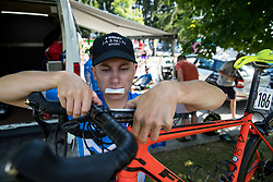 Kristjan Hocevar (SLO) of Slovenia during 3rd Stage of 26th Tour of Slovenia 2019 cycling race between Zalec and Idrija (169,8 km), on June 21, 2019 in Slovenia. Photo by Matic Klansek Velej / Sportida