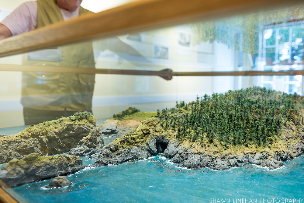 The Port Orford Lifeboat Station is a museum and interpretive center in southern Oregon. It includes a topographical scale model of the beach area at Port Orford, Oregon.