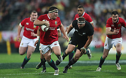 British and Irish Lions Jamie George during the second test of the 2017 British and Irish Lions tour at Westpac Stadium, Wellington.