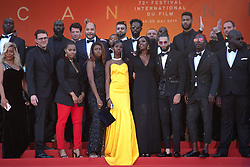 Cast and crew of Les Miserables attending the Les Miserables Premiere as part of the 72nd Cannes International Film Festival in Cannes, France on May 15, 2019. Photo by Aurore Marechal/ABACAPRESS.COM