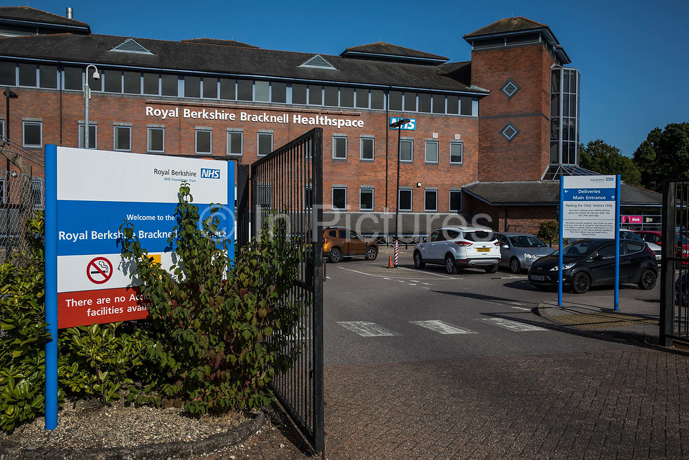 The exterior of the site for a new COVID-19 Lighthouse Laboratory at Royal Berkshire Bracknell Healthspace is pictured on 18 September 2020 in Bracknell, United Kingdom. The Department of Health and Social Care has announced that coronavirus testing capacity will be boosted by the creation of two new Lighthouse Laboratories in Newcastle and Bracknell, with the Bracknell site to be run by Berkshire and Surrey Pathology Services with the target of 40,000 tests processed per day by February 2021.