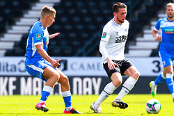 Craig Forsyth of Derby County runs on the ball - Mandatory by-line: Ryan Crockett/JMP - 05/09/2020 - FOOTBALL - Pride Park Stadium - Derby, England - Derby County v Barrow - Carabao Cup