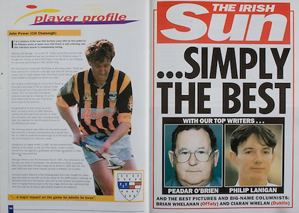 All Ireland Senior Hurling Championship - Final, .10.09.2000, 09.10.2000, 10th September 2000, .10092000AISHCF,.Senior Kilkenny v Offaly,.Minor Cork v Galway,.Kilkenny 5-15, Offaly 1-14, .The Irish Sun,