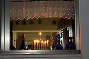Chanuka (Jewish Festival of light) celebrations at Kibbutz Ashdot Yaacov, Israel
