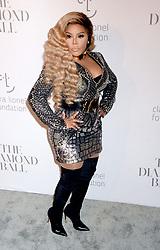 Lil Kim attending Rihanna's 3rd Annual Diamond Ball at Cipriani Wall Street on September 14, 2017 in New York City, NY, USA. Photo by Dennis Van Tine/ABACAPRESS.COM