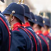 NLD/Den Haag/20190917 - Prinsjesdag 2019, regiment Grenadiers