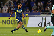 Jason DENAYER of Lyon during the French championship Ligue 1 football match between Olympique Lyonnais and Nimes Olympique on September 18, 2020 at Groupama stadium in Decines-Charpieu near Lyon, France - Photo Romain Biard / Isports / ProSportsImages / DPPI