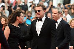 May 22, 2019 - Cannes, France - 72eme Festival International du Film de Cannes. Montée des marches du film ''Roubaix, une lumiere (Oh Mercy!)''. 72th International Cannes Film Festival. Red Carpet for ''Roubaix, une lumiere (Oh Merci!)'' movie.....239728 2019-05-22  Cannes France.. DiCaprio, Leonardo; Conners Petersen, Leila (Credit Image: © L.Urman/Starface via ZUMA Press)
