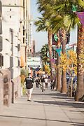 People out Walking on Colorado Boulevard Pasadena