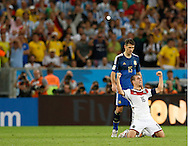 during the 2014 FIFA World Cup Final match at Maracana Stadium, Rio de Janeiro<br /> Picture by Andrew Tobin/Focus Images Ltd +44 7710 761829<br /> 13/07/2014