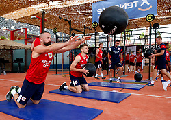 Aaron Wilbraham of Bristol City works out in the gym - Mandatory by-line: Matt McNulty/JMP - 20/07/2017 - FOOTBALL - Tenerife Top Training Centre - Costa Adeje, Tenerife - Pre-Season Training