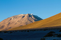 Volcano Ollage on the border between Chile and Bolivia