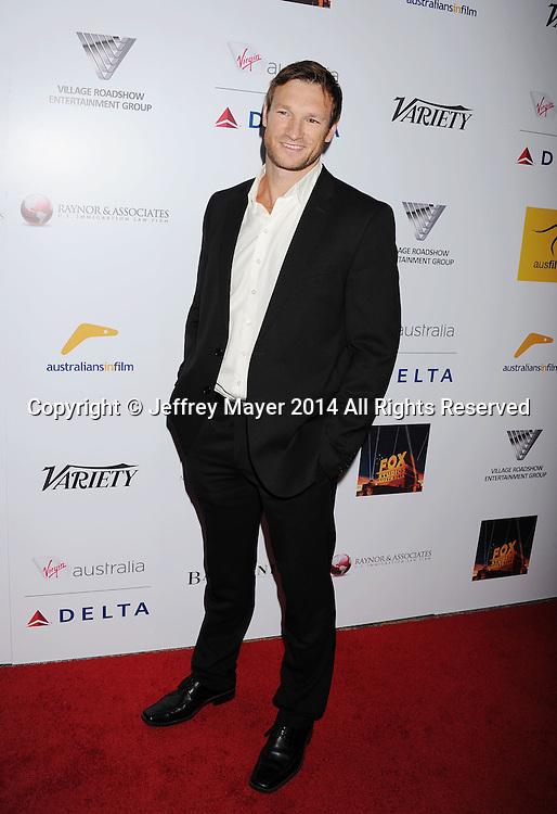 SANTA MONICA, CA- OCTOBER 26: Actor Jimmy Taylor attends the 3rd Annual Australians in Film Awards Benefit Gala at the Fairmont Miramar Hotel on October 26, 2014 in Santa Monica, California.