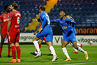 Richie Bennett, Stockport County FC 4-0 Chesterfield FC. Emirates FA Cup. 4.11.20