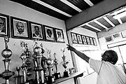 Belo Horizonte_MG, Brasil...1a Copa Kaiser de Futebol Amador de Belo Horizonte. Jogo entre Racing x  Danubio. Na foto o diretor de futebol a sede do clube...1st Kaiser Cup of Amateur Football in Belo Horizonte. The match was between  Racing x  Danubio. In this photo the director of football...Foto: NIDIN SANCHES / NITRO