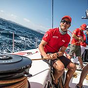 Leg 01, Alicante, PRO-AM race 2 on board MAPFRE. Photo by Ugo Fonolla/Volvo Ocean Race. 15 October, 2017