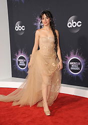 Camila Cabello at the 2019 American Music Awards held at the Microsoft Theater in Los Angeles, USA on November 24, 2019.
