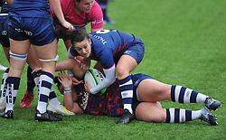 Rhi Parker of Bristol Bears Women - Mandatory by-line: Paul Knight/JMP - 24/10/2020 - RUGBY - Shaftesbury Park - Bristol, England - Bristol Bears Women v Loughborough Lightning  - Allianz Premier 15s