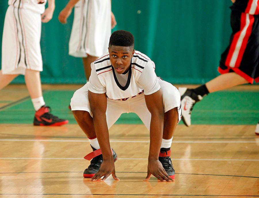 April 9, 2011 - Hampton, VA. USA; Semilore Ojeleye participates in the 2011 Elite Youth Basketball League at the Boo Williams Sports Complex. Photo/Andrew Shurtleff