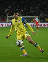 Football - UEFA Europa League - FC Utrecht vs. Steaua Bucharest. Steaua captain Cristian Tanase.