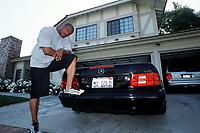 ATHLETICS - LOS ANGELES (USA) - HSI GROUP - EXCLUSIF - 200105 - PHOTO: PHILIPPE MILLEREAU / DIGITALSPORTMAURICE GREENE (USA) - AT HOME