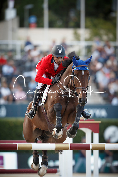 Barrios Pablo, (VEN), Antares <br /> First Round<br /> Furusiyya FEI Nations Cup Jumping Final - Barcelona 2015<br /> © Dirk Caremans<br /> 24/09/15