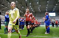 Fotball , 17. november 2017 ,  NM-finale J19<br /> Arna-Bjørnar - Fortuna  1-2<br /> <br /> Leah Sophie Wergeland  og Arna-Bjørnar depper etter tap