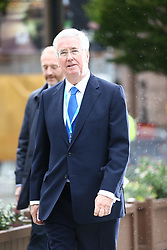 © Licensed to London News Pictures. 04/10/2017. Manchester, UK. Michael Fallon in Manchester this morning ahead of Theresa May's speech on the third & final day of the Conservative Party Conference today in Manchester. Photo credit: Andrew McCaren/LNP