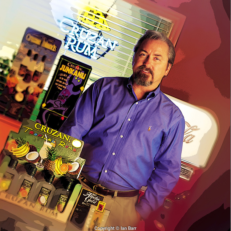 portrait of Jim Reisigl for printer brochure