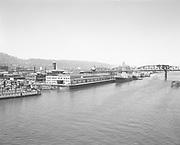 "Ackroyd 03667-1. ""Dock Commission. Ocean Terminal. June 17, 1952"" (General Steamship Corp. Terminals. west bank of Willamette south of Broadway Bridge)"