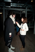 IMOGEN HEAP; VICTORIA ANNE BALL  BIRDS EYE VIEW INTERNATIONAL WOMEN'S DAY  RECEPTION, BFI Southbank. London. 8 March 2012.